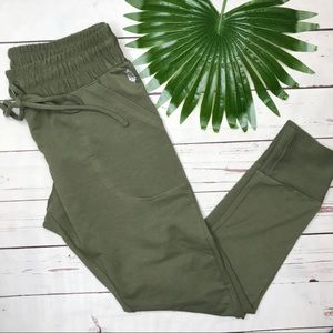 {FP Movement} sz L Army sunny skinny joggers